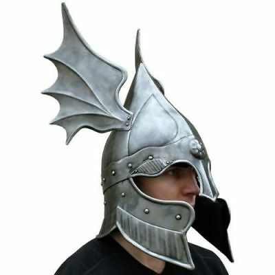 Dragon vinking Medieval Barbute Helmet Armour Roman knight with Liner gladiator