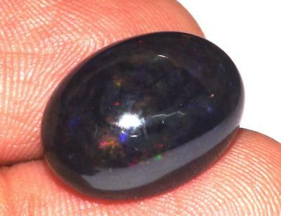8.60 cts Natural Earth Mined Ethiopian Fire Opal 17 x 13 mm Gemstone #obo557