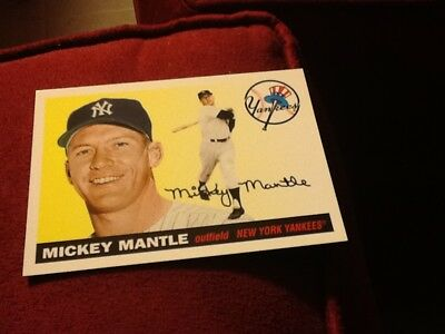 2 Great Mickey Mantle Cards 1 Low Price--Yankees--See Both Scans-Free Shipping!!