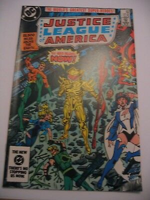 Justice League of America #229  DC 1984 FN- P&P Discounts