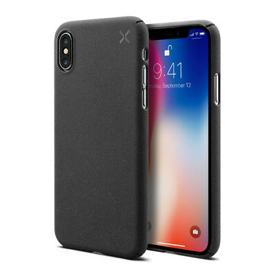 Casetify X Couverture etui de protege mate durable snap Chocolat pour iPhone X