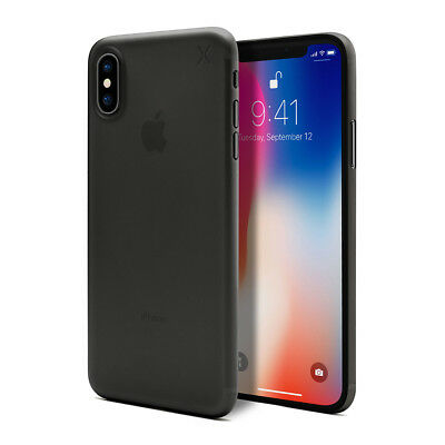 Casetify X Couverture de protege durable ultra fin 0.45mm en PP pour iPhone X