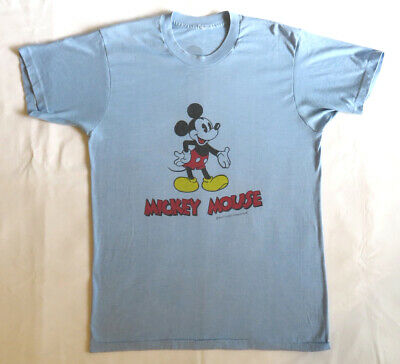 a33c59ac Mickey Mouse Vintage T Shirt 80's 1980's Walt Disney Pop Culture Disneyland