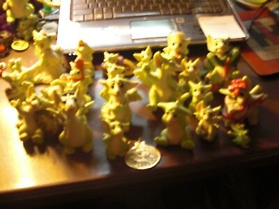 Lot Of 21 Pocket Dragons + Broach + Brass Ornament Excellent Condition NO BOXES