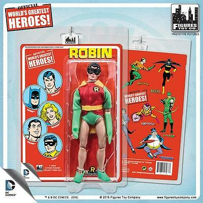 Super Friends World/'s Greatest Heroes Figure Retro Wave 1 Set of 4 sealed cards