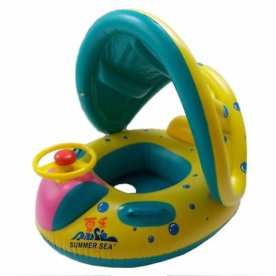 Baby Boat Inflatable with Sunshade for Swimming Pool