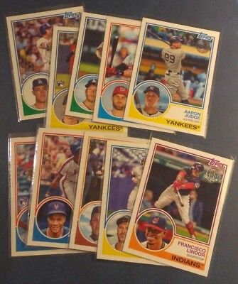 2018 Topps Series 1 and 2 Rookie 1983 35th Anniversary Insert Pick From List