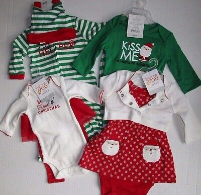 Just One You Carter's Christmas 2 Piece Sets Choose Style / Size