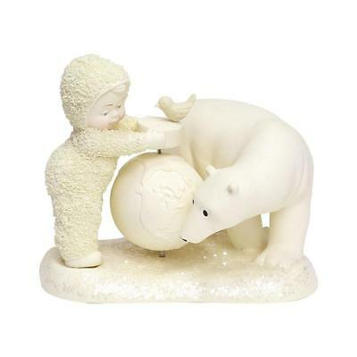 "Dept 56 Snowbabies ""PEACE ON EARTH"" 6001886"