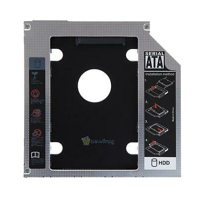 """2.5"""" Universal SATA 2nd SSD HDD Caddy Bay Hard Drive For 9.5mm Apple Macbook Pro"""