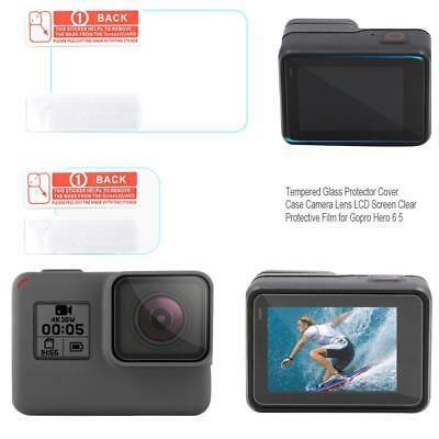 3X Tempered Glass Protector Cover Lens LCD Screen Film for Gopro Hero 6 5 Camera