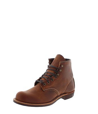 7de0a74c2a80f1 Red Wing Shoes BLACKSMITH 3343 Braun Herren Schnürstiefelette Urban Boot