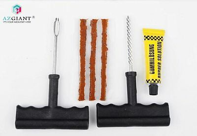 Bike Tubeless Tire Repair Kit Bicycle Tyre Puncture Plug Repair Tool With Glue
