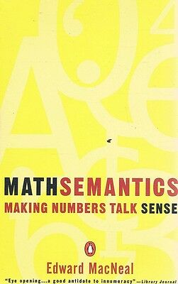 Mathsemantics by MacNeal Edward - Book - Soft Cover - Maths/Physics