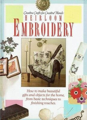 Heirloom Embroidery by Finnis Jo - Book - Hard Cover - Craft / Hobbies