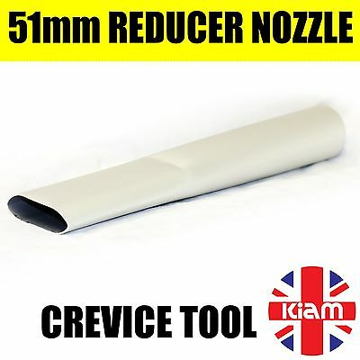 Gutter cleaning tool - CREVICE NOZZLE for Vacuum Pole attachment (Reducer)