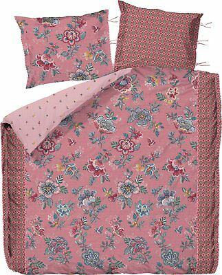 Pip Studio Romantik Bettwäsche 80x80 135x200 Berry Bird Pink