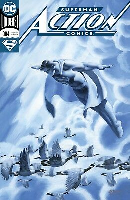 ACTION COMICS #1004, FOIL COVER, New, First print, DC UNIVERSE (2018)