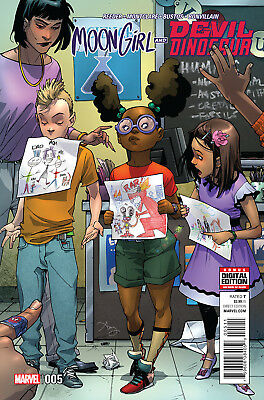 MOON GIRL AND DEVIL DINOSAUR #5, New, First print, Marvel Comics (2016)