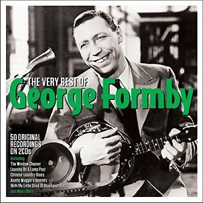 George Formby  ~ The Very Best Of NEW 2CD GREATEST HITS INC THE WINDOW CLEANER
