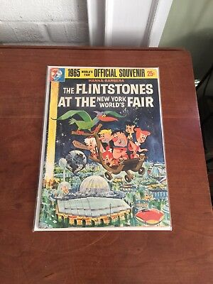 The Flintstones at the New York World's Fair Comic - 1964 Official Souvenir