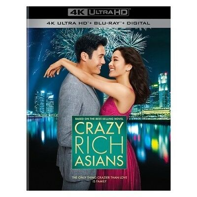 Warner Home Video Br740119 Crazy Rich Asians (2018/blu-Ray/4K-Uhd/2 Disc)