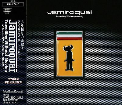 JAMIROQUAI Travelling Without Moving +3 FIRST JAPAN CD OBI ESCA 6627