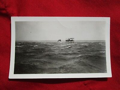 """1935 Coast Guard helps """"Nelly Bly"""" in N.E. Gale of 45 M.P.H.Winds Photo"""