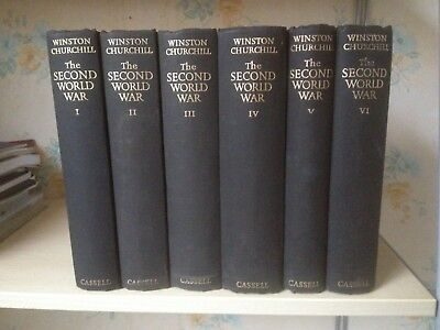 The Second World War - Winston Churchill Full Set, 1948 - 1952, Cassell