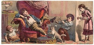 G. M. Clark dealer in Boots, Shoes & Rubbers Trade Card