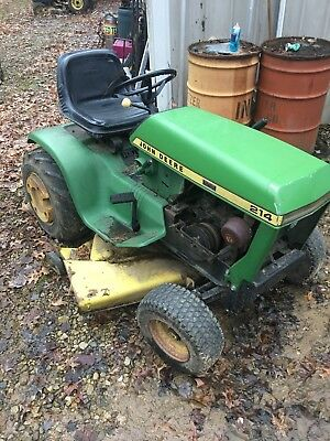 John Deere 214 >> John Deere 214 Lawn Tractor Mower Riding 42 Deck Pickup Only