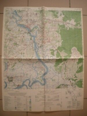 BIEN HOA Vietnam map Long Binh 118 AHC BEARCAT Cat Lai 6330 I