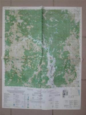 AN LAO VALLEY Vietnam map AIR CAV 101st  Airborne 6738 II
