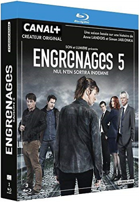 Fitoussi, Gregory-Coffret Engrenages, Saison 5 [Blu-Ray] [Fr Import] BLU-RAY NEW