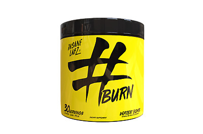 INSANE LABZ - #BURN - FAT BURNER - 30 Servings - CHOOSE FLAVOR - SHRED