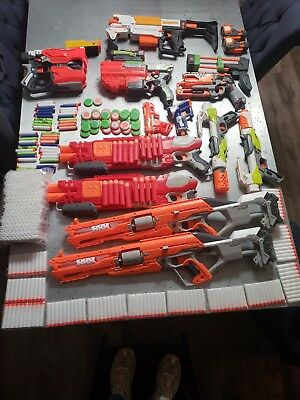 HUGE Nerf gun and ammo lot!!!