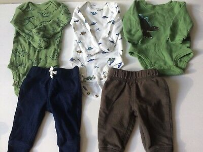 Baby Boy Carters Lot Newborn