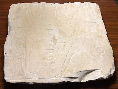 Extremely Rare Large Egyptian Stone Relief Middle Kingdom 2nd Millennium BC