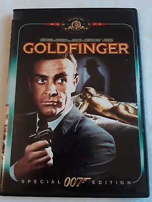 Goldfinger (MGM/UA/ Special Edition/ Old Version) DVD Sean Connery