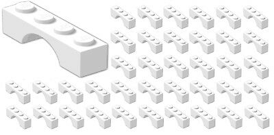 10 LEGO 1x2 1x4 DOT WHITE ANGLE PLATES PARTS B778