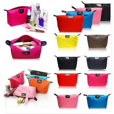 Cosmetic Makeup Small Travel Toiletry Wash Organizer Beauty Bags Case Waterproof