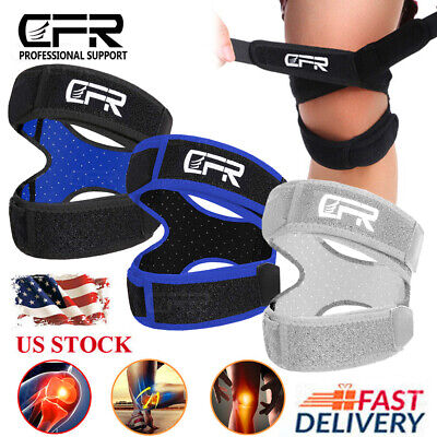 Knee Support Patella Stabilizer Strap Band Tendon Brace Pain Sports Gym Joint HG