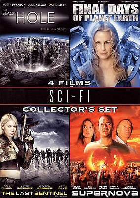 Sci-Fi Collector's 4-Film Set DVD, Luke Perry, Kristy Swanson, Daryl Hannah, Don