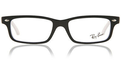 ad0d0a307c RAY-BAN RY 1535 3579 Black On White Plastic Rectangle Childrens ...