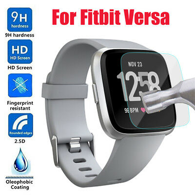 Oleophobic coating HD Tempered Glass Screen Protect Film For Fitbit Versa Watch