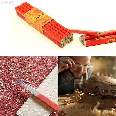 A89A DIY 10pcs 175mm Carpenter Pencils Joiners Woodworking Craft Stationery