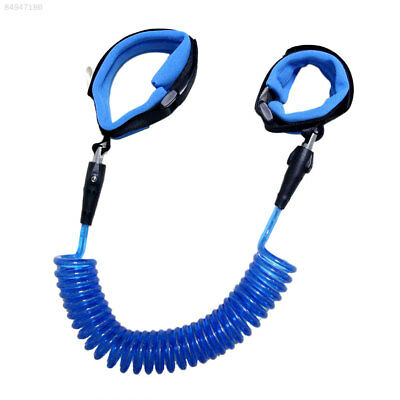 116F Children Safety Leash Anti Lost Wristbands Harness Strap Traction Rope Blue