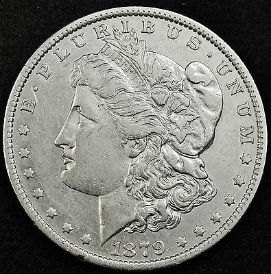 1879-o Morgan Silver Dollar.  High Grade.  (INV.A)