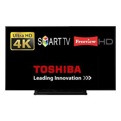 """Toshiba 55V5863DB 55"""" Smart TV 4K Ultra HD  With Freeview And Dolby Audio"""