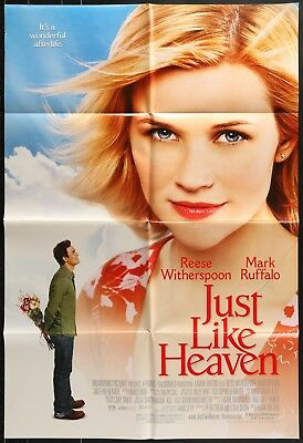 JUST LIKE HEAVEN Reese Withersoon ORIGINAL 2005 1 ONE SHEET MOVIE POSTER 27 x 40
